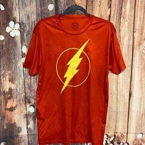 DC red flash shirt size large